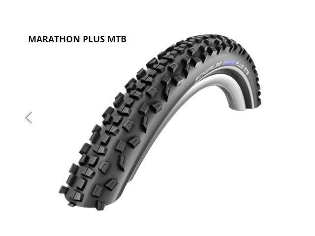 "SCHWALBE Marathon Plus MTB 26"" x 2.1"" Puncture Protection click to zoom image"