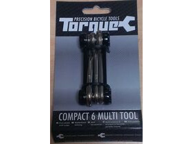 TORQUE CYCLE TOOLS Compact 6 Lightweight Folding Multi Tool