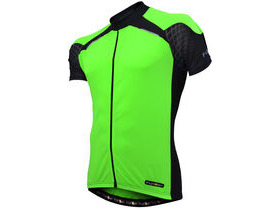 FUNKIER CLOTHING J730 Short Sleeve Mens Cycling Jersey Green