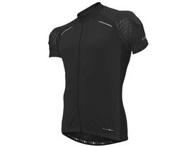 FUNKIER CLOTHING J730 Short Sleeve Mens Cycling Jersey Black