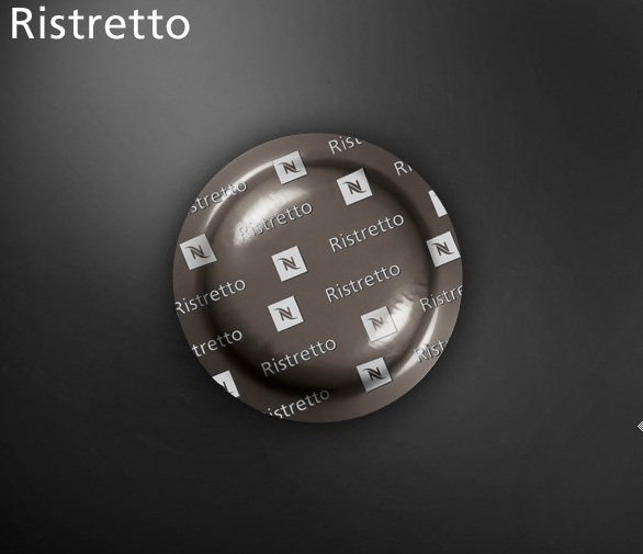 Nespresso ristretto commercial coffee capsule box 50 9 for Porte 60 capsules nespresso