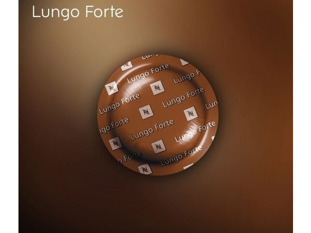 nespresso lungo forte commercial coffee capsules box 50. Black Bedroom Furniture Sets. Home Design Ideas