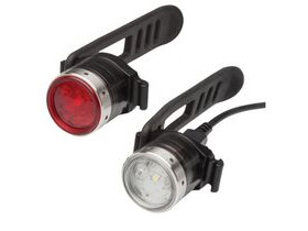 LED LENSER B2R Mini Front and Rear Rechargeable cycle Light Set