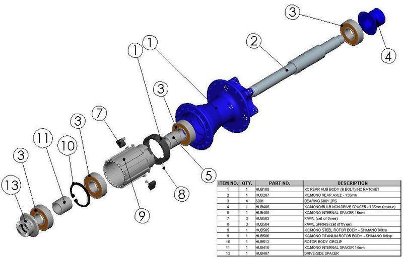 Hope 6001 2rs Hope Xc Hub Cartridge Wheel Bearing     U00a35 95