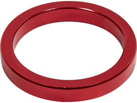 RUSH 5mm Red Alloy Headset Spacer