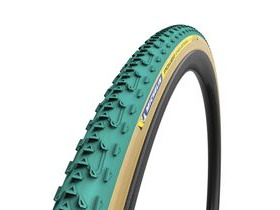 MICHELIN Power Cyclocross Jet Tubular Tyre Green 700 x 33c