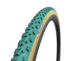 MICHELIN Power Cyclocross Mud Tubular Tyre Green 700 x 33c