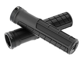 VP COMPONENTS Lock On Ergo Grips in Black VP-122A
