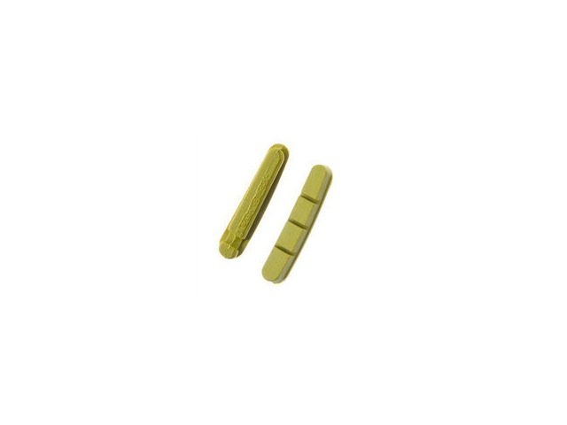 HALT Gooey Replacement Road bike brake pad inserts Yellow click to zoom image