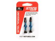 STANS NO TUBES MTB Tubeless Valves Orange 35mm
