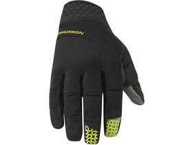 MADISON Flux Glove black / limeaid