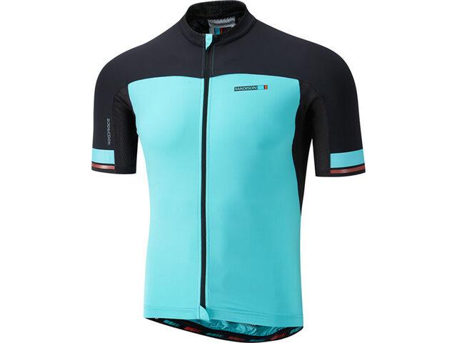 Madison RoadRace Light men/'s short sleeve jersey black blue curaco XX-large