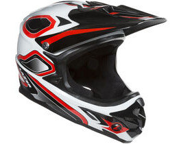 LAZER HELMETS Phoenix Full Face Helmet Red White