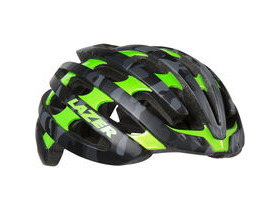 LAZER HELMETS Z1 with Aeroshell matt black camo / flash green