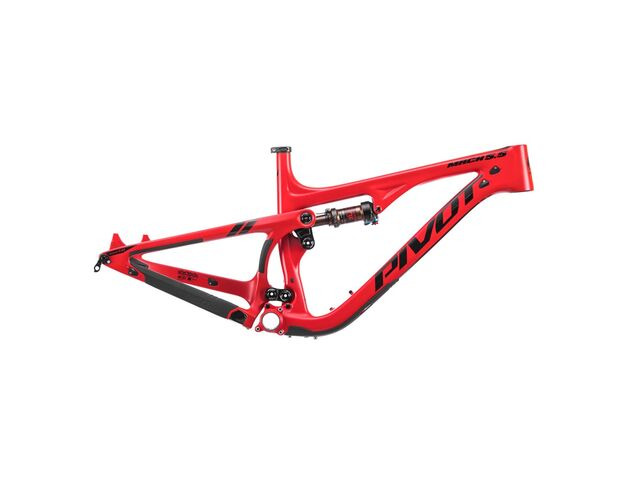 PIVOT CYCLES Mach 5.5 Carbon Red click to zoom image