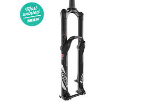 ROCK SHOX - Pike Rct3 - 27.5 Maxlelite15 - Solo Air 150 Diffusion Black - Crown Adj Alum Str - Tapered - Disc - My17 Black 27.5""