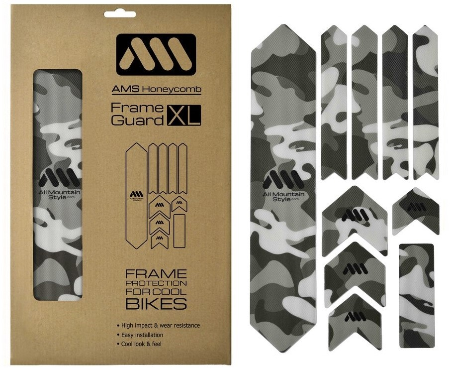 a8b9603308a ALL MOUNTAIN STYLE (AMS) XL Frame Guard Frame Protection Kit Camo click to  zoom