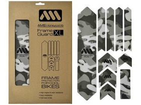 ALL MOUNTAIN STYLE (AMS) XL Frame Guard Frame Protection Kit Camo