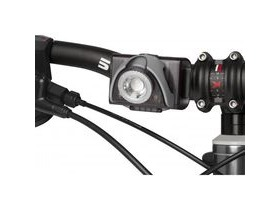 LED LENSER SEO B5R Rechargeable Cycle Light Grey