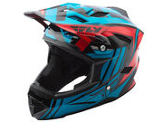 FLY RACING Default Full Face Helmet Teal / Red