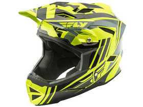 FLY RACING Default Full Face Helmet Hi-Vis / Black