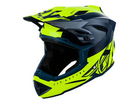 FLY RACING Default Full Face Helmet Dither Teal / Yellow