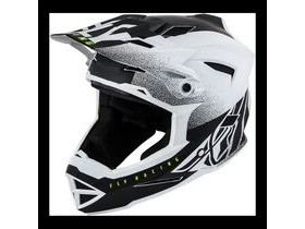 FLY RACING Default Full Face Helmet Dither Matt White / Black