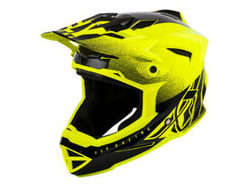 FLY RACING Default Full Face Helmet Dither Hi Vis - Yellow