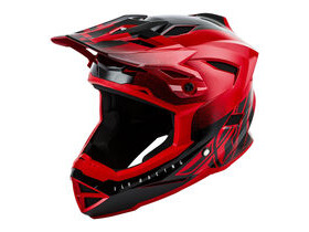 FLY RACING Default Full Face Helmet Dither Red Black