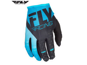 FLY RACING Kinetic Glove Blue - Black
