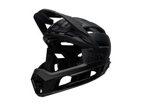BELL CYCLE HELMETS Super Air R Mips MTB Full Face Helmet Matte/Gloss Black