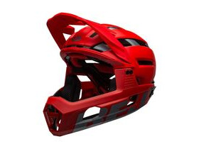 BELL CYCLE HELMETS Super Air R Mips MTB Full Face Helmet Matte/Gloss Red/Grey