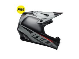 BELL CYCLE HELMETS Full-9 Fusion Mips MTB Full Face Helmet 2019: Matte Black/Grey/Crimson