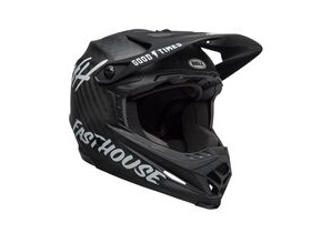 BELL CYCLE HELMETS Full-9 MTB Full Face Helmet 2019: Fasthouse Matte Black/White