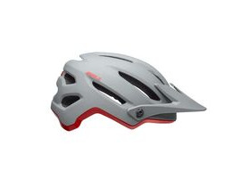 BELL CYCLE HELMETS 4forty MTB Helmet 2019: Cliffhanger Matte/Gloss Grey/Crimson
