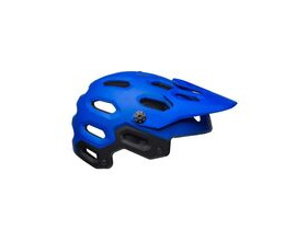 BELL CYCLE HELMETS Super 3 MTB Helmet 2019: Matte Blues