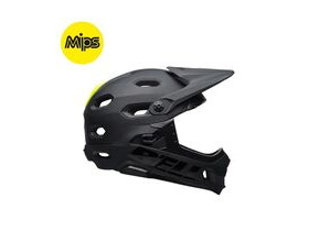 BELL CYCLE HELMETS Super Dh Mips MTB Helmet 2018: Matt/Gloss Black