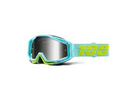 100% Racecraft Goggles Pinacle / Silver Mirror Lens