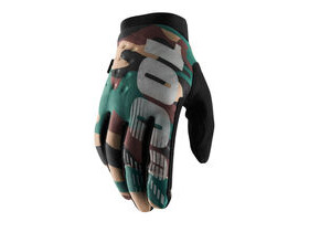 100% Brisker Cold Weather Youth Glove 2019 Camo / Black