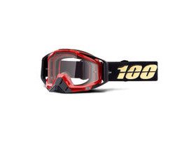100% Racecraft Goggles Hot Rod / Clear Lens