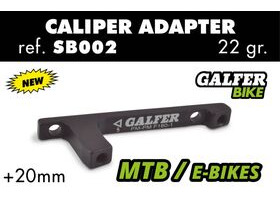 GALFER SB002 +20mm Post Mount Adaptor