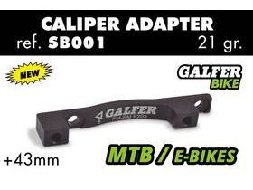 GALFER SB001 +43mm Post Mount Adaptor