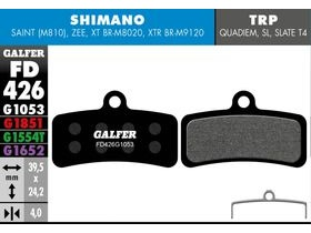 GALFER Shimano Saint - ZEE Pro Competition (green)