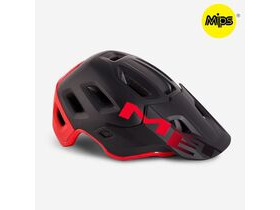 MET HELMETS Roam Mips in Black - Red - Matt - Glossy