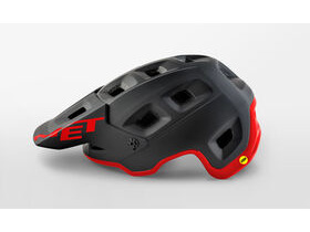 MET HELMETS Terranova Mips Cycle Helmet Black - Red