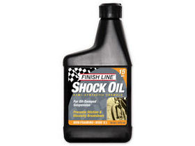 FINISH LINE Shock oil 15wt 16oz/475ml