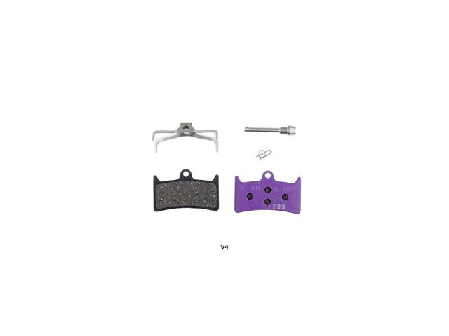 HOPE V4 Ebike disc brake pads (purple) click to zoom image
