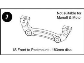 HOPE Mount J for Disc Brakes