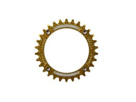 HOPE Narrow Wide Chainring 104 BCD in Gold