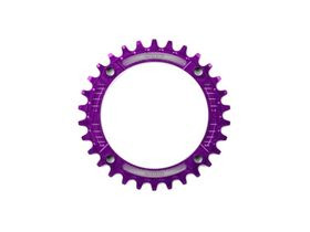 HOPE Narrow Wide Chainring 104 BCD in Purple